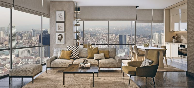 فروش آپارتمان در استانبول درمرکز شهر 3دقیقه تا میدان تاکسیم