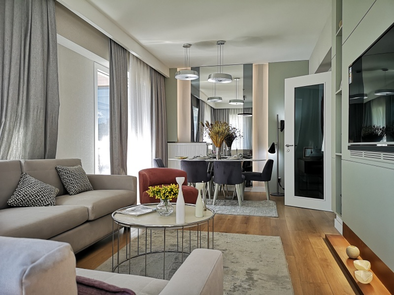 Apartment for sale in Istanbul ready to move