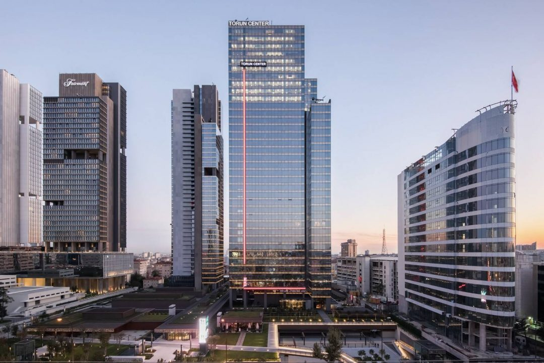 apartment for sale in Istanbul city center with sea view